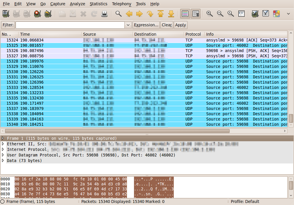 Monitoring a remote network interface with tcpdump and Wireshark ...