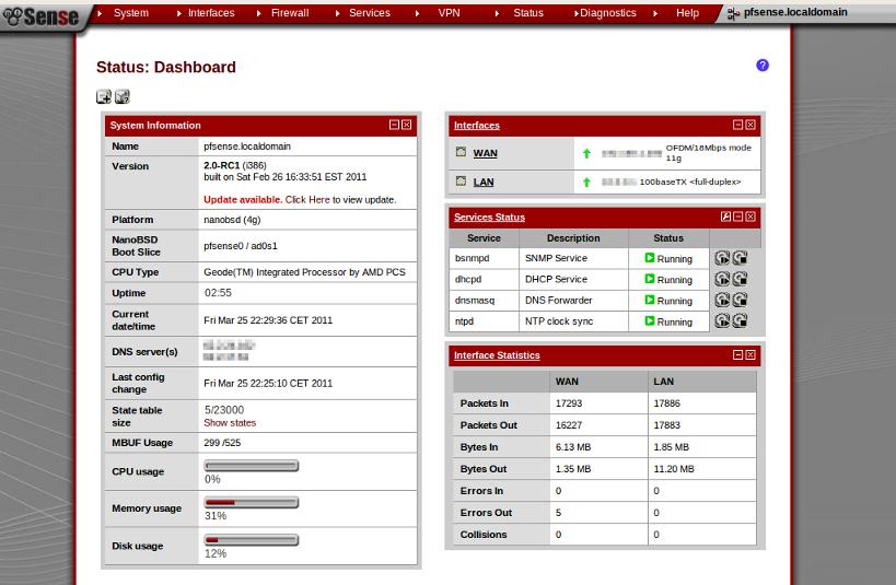 pfsense-dashboard   looke ch